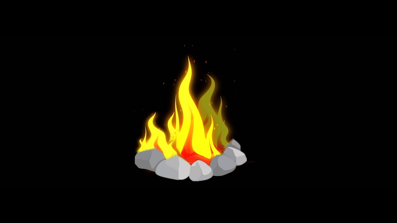 flame animation after effects vector art youtube
