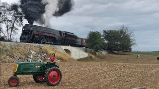 Top 5 Steam Locomotives In Action 2019..Pennsylvania Steam Trains!