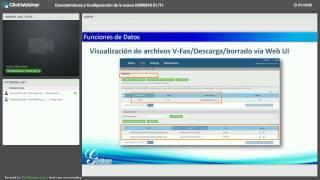 Webinar - Características y configuraciones de la nueva UCM6510 E1/T1