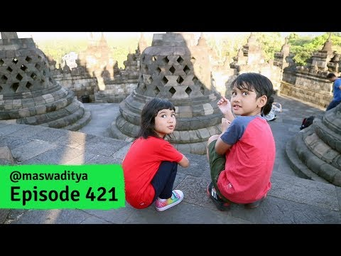 Menjelajah Borobudur!