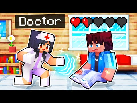Healing My Friends As a Doctor In Minecraft!