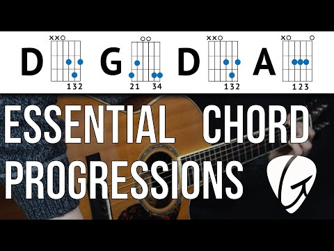 Chord Progression Practice - D G D A - These Easy Chords Are A Great Place To Start