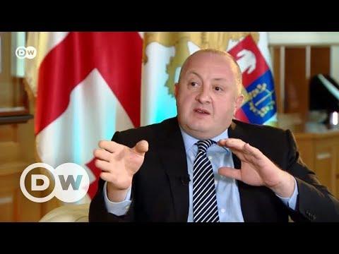 С Путиным у меня нет личных отношений - президент Грузии в 'Немцова.Интервью'