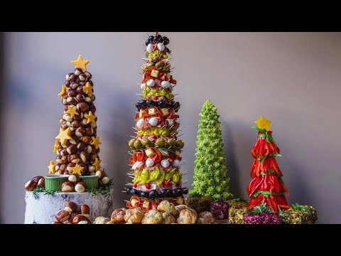 How to Make Appetizer Trees By Rach's Culinary Team
