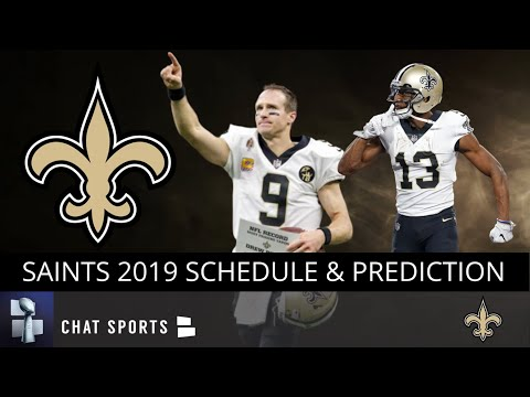 new-orleans-saints-news:-2019-saints-schedule-and-win/loss-predictions,-plus-nfl-playoffs-prediction