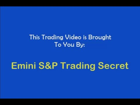 Emini S&P Trading Secret $284,000 Trading Account With Interactive Brokers