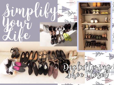 靴断捨離物がなくても想い出は残るShoe Closet Declutter〈SYL〉