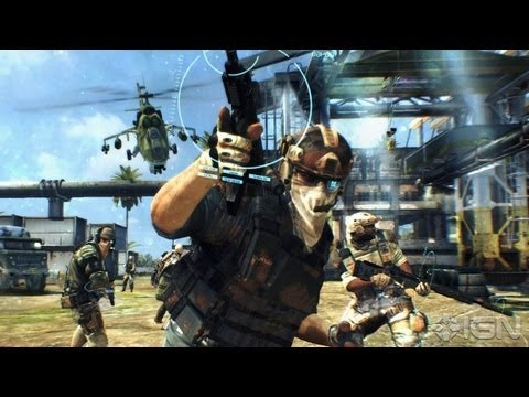 Ghost Recon: Future Soldier - Believe in Ghosts Trailer