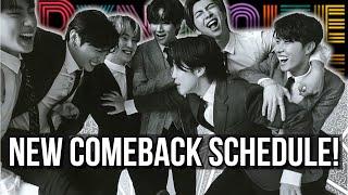 BTS Announces New Comeback Schedule New MV \u0026 Performances