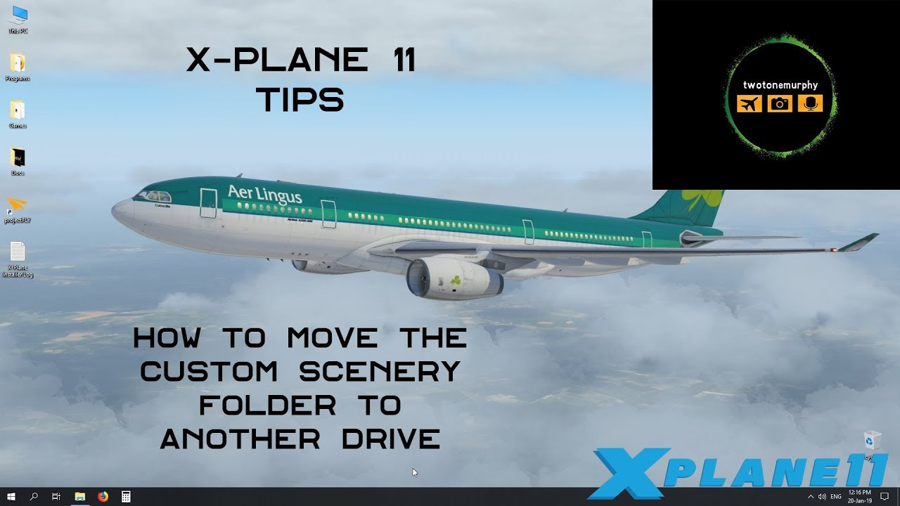 X Plane 11 Tips - How to move the Custom Scenery Folder to another drive