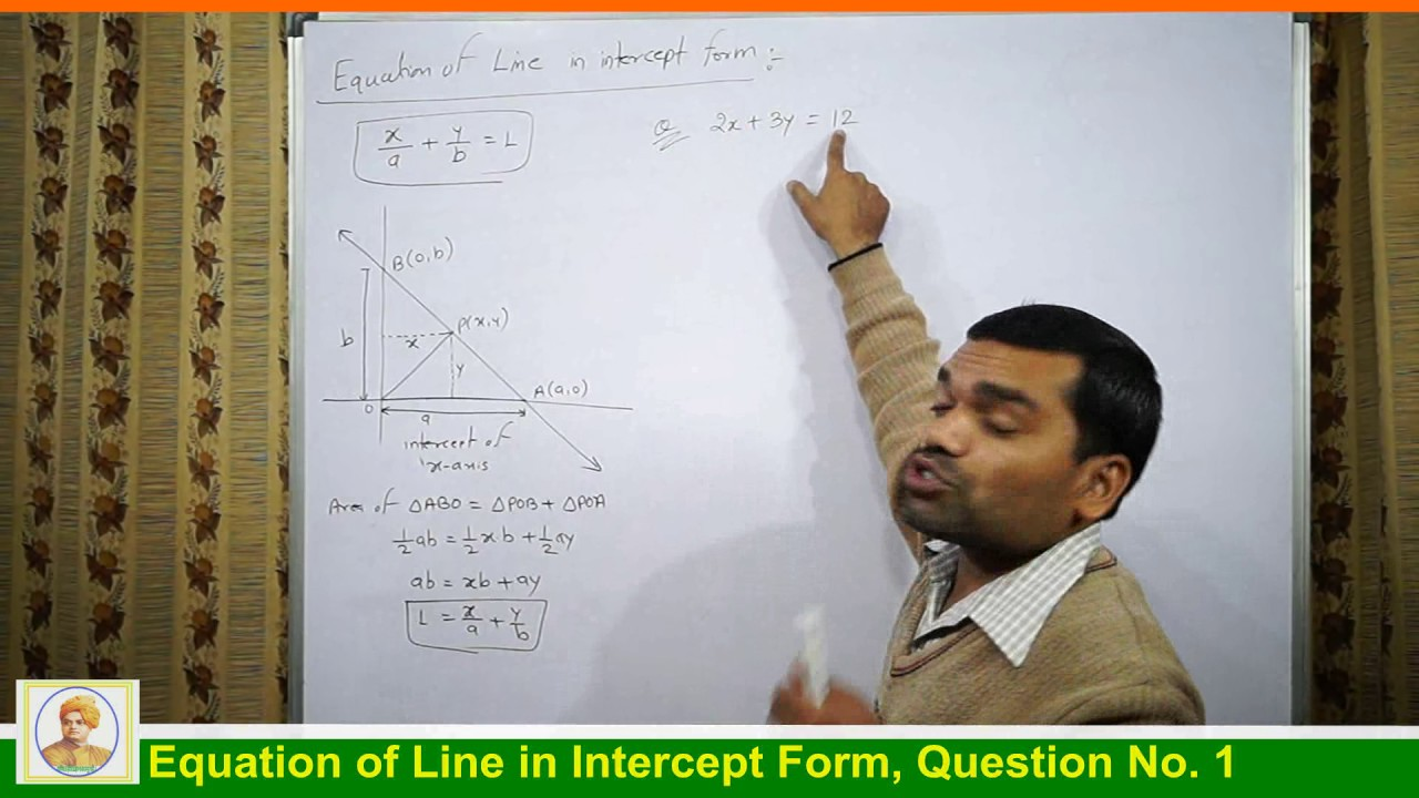 quit smoking certificate template  Equation of Line in Intercept form in Hindi