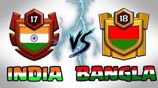 🔥 LIVE | INDIA VS BANGLADESH 🔥 TOUGH CLAN WAR || Clash Of Clans LIVE