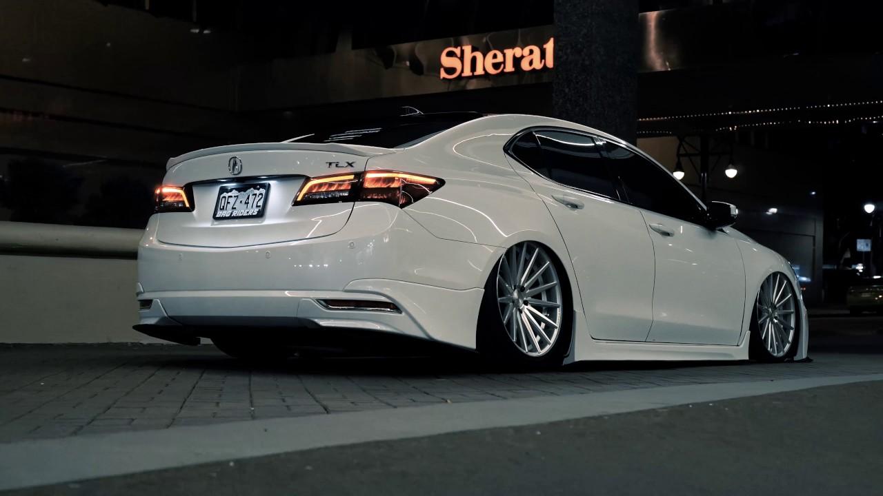 Bagged Acura TLX | @warnertlx | 4K - YouTube