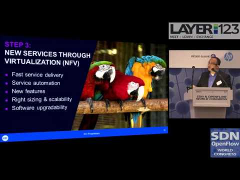 """""""The Case for Transport SDN and NFV"""" at the SDN & OpenFlow World Congress"""