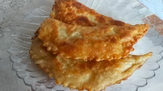 Готовим  Вкуснейшие Крымские Чебуреки. Они Просто Тают во Рту !