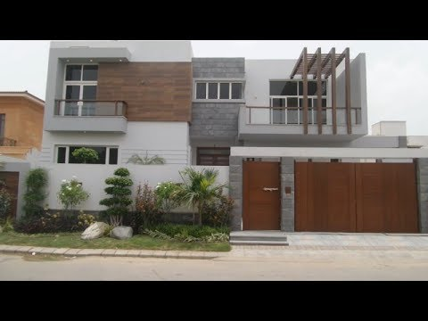 500 Sqyd Luxury Brand New Bungalow For Sale In Phase 8 Dha Karachi