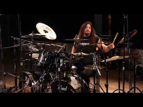 "Gene Hoglan Drum Playthrough Strapping Young Lad ""Skeksis"""