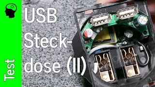 Test / Teardown: USB Unterputz Steckdose / Lader von CSL