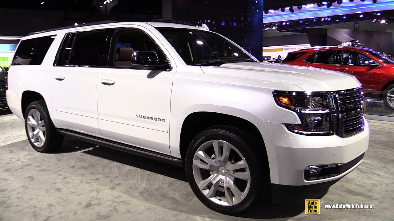 2017 Chevrolet Suburban - Exterior and Interior Walkaround ...