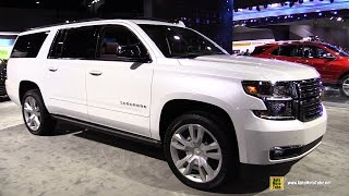 2017 Chevrolet Suburban - Exterior and Interior Walkaround - 2016 LA Auto Show