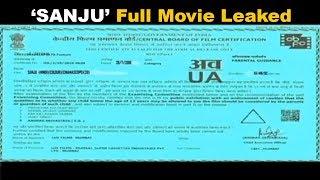 OMG ! SANJU Full Movie Leaked On Facebook   Ranbir Kapoor In Big Trouble