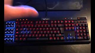 corsair vengeance k95 rgb backlit mechanical keyboard review and unboxing