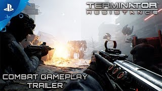 Terminator: Resistance - Combat Gameplay Trailer | PS4