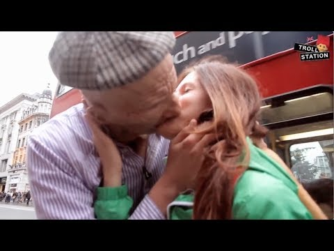 Old Man Kissing Teen 56