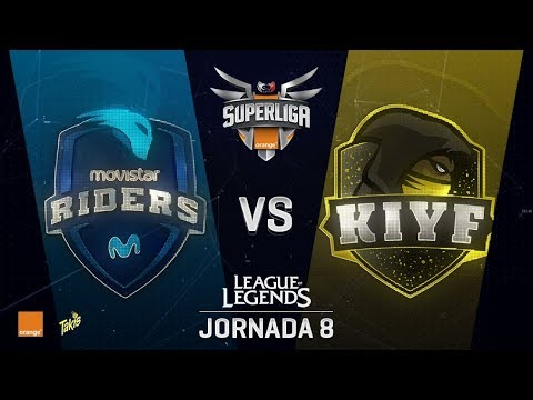 SUPERLIGA ORANGE - RIDERS VS KIYF - Mapa 1 - #SUPERLIGAORANGELOL8