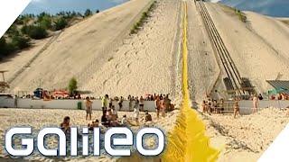 Galileo eXtrem: Wir bauen die längste Wasserrutsche der Welt  | Galileo | ProSieben