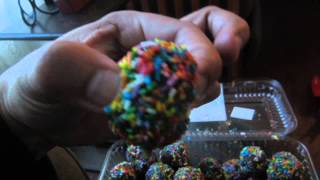 The Bakery Review: Chocolate Donut Holes With Sprinkles