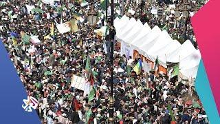 التلفزيون العربي | الجزائر .. الآلاف يتظاهرون للمطالبة برحيل النظام