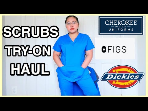 SCRUBS TRY-ON HAUL | THE BEST & AFFORDABLE SCRUBS!
