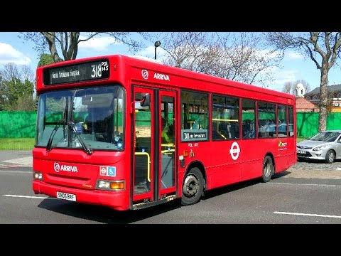 London Buses - Arriva in North London - Single Deckers