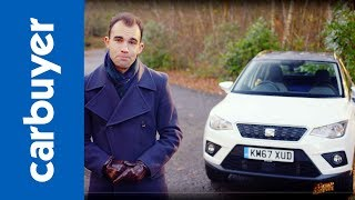 SEAT Arona SUV review - Is SEAT's small Ibiza SUV any good - James Batchelor - Carbuyer