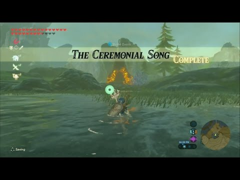 Zelda Breath of the Wild - SHRINE QUEST - The Ceremonial Song