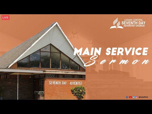 Sabbath Worship -Main Service Sermon