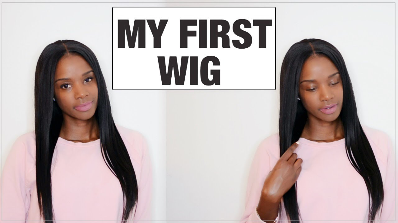 How to wear a lace wig for BEGINNERS  202db7ec0
