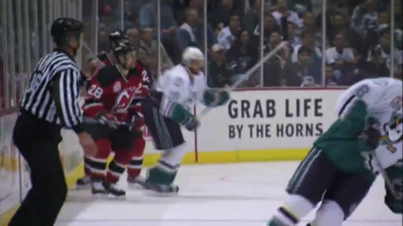 84298228b5f Paul Kariya in game 6 of the 2003 Stanley Cup Final between the Ducks and  Devils