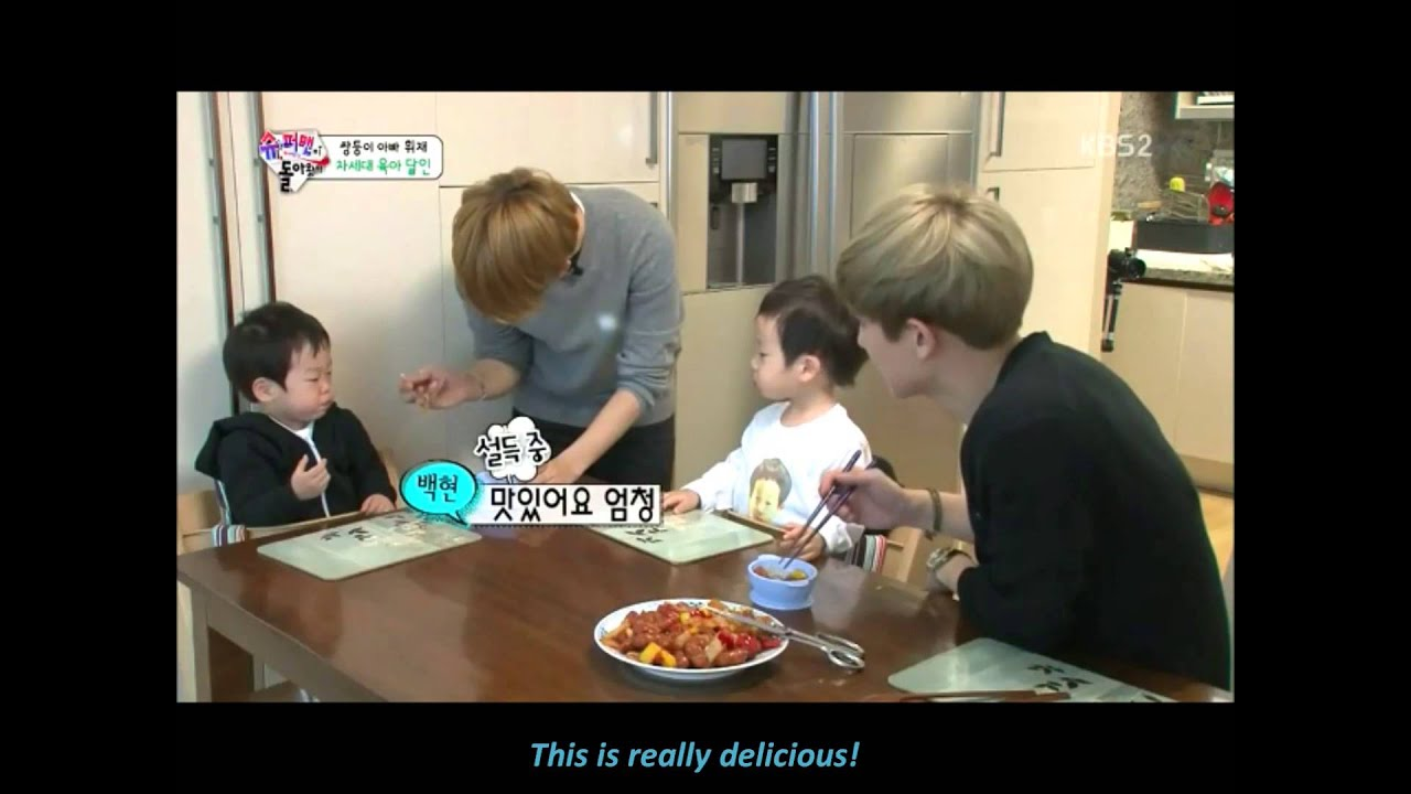 Download [ENGSUB] 150524 Chanbaek // TROS (Chanbaek feeding the twins)
