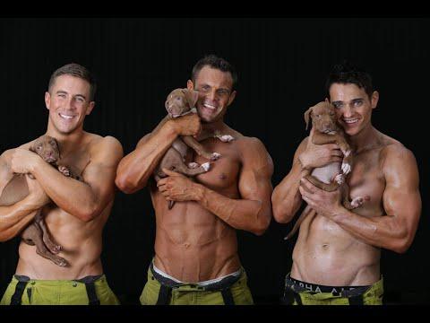 Pompieri E Animali Posano, Per Il Calendario 2020, Per Una Giusta Causa
