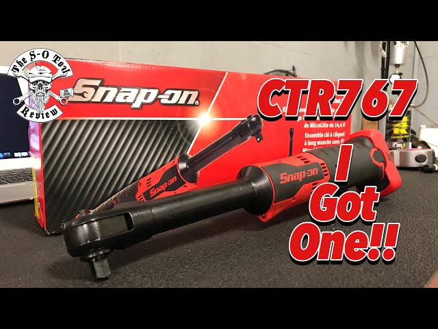 ITS SNAP-ON....SATURDAY? I Got The CTR767!!!!