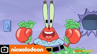 SpongeBob SquarePants | Safe Desposit Mr Krabs | Nickelodeon UK
