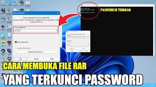 Cara membuka Rar Terkunci oleh password tanpa software