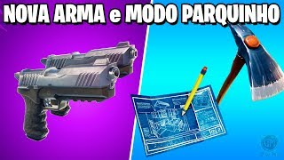 Fortnite-NEW WEAPON and PARQUINHO MODE | Patch 4.5
