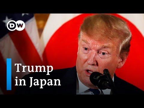 Donald Trump in Japan: What will Shinzo Abe aim to achieve? | DW News