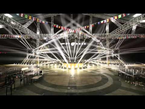 Hi-Ltte Stage Lighting Show in Suzhou Beer Festival