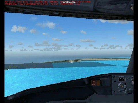 Tarawa Kiribati Flight Simulator
