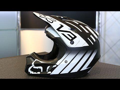 bc2b18aa Fox V3 Savant Helmet | Motorcycle Superstore - YouTube