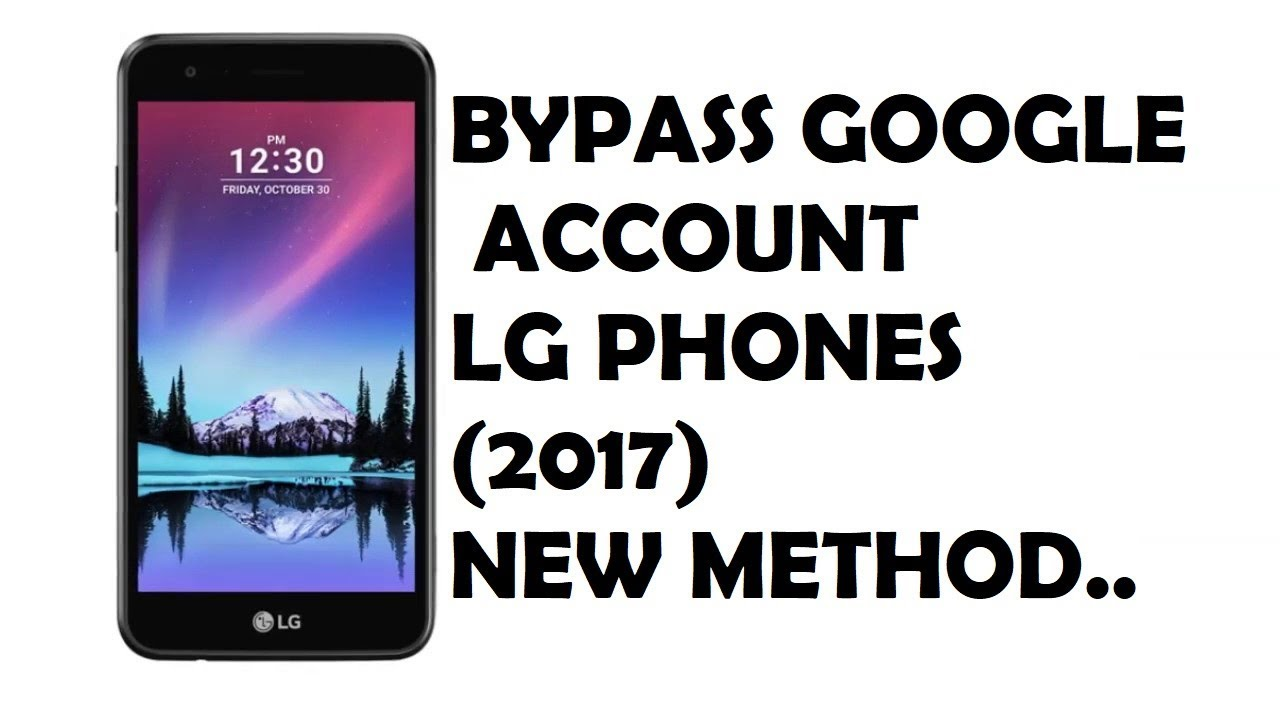 Bypass FRP Google Account on LG Phones (2017)